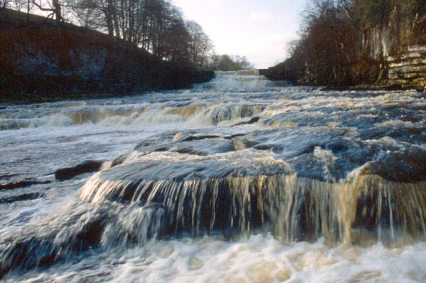Aysgarth Falls Lower Drop Waterfall